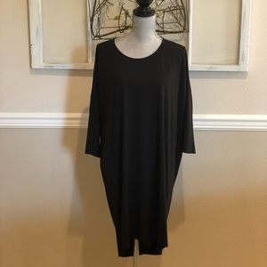 COS Classic Black Dress with 3/4 Sleeves Size S
